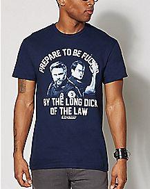Cops Be Prepared T Shirt - Superbad