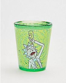 Rick and Morty Freezer Gel Shot Glass - 1.5 oz.