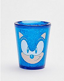 Sonic the Hedgehog Freezer Gel Shot Glass - 1.5 oz.