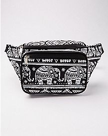 Tribal Elephant Fanny Pack