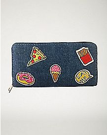 Junk Food Patch Wallet