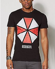 Umbrella Corporation Resident Evil T Shirt