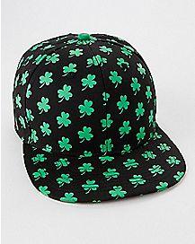 Clover Snapback Hat