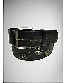 Gear Steam Punk Belt