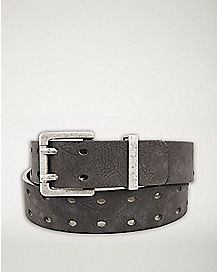 Double Perforated Belt
