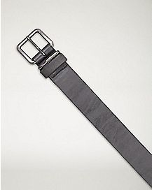 Glazed Belt - Black