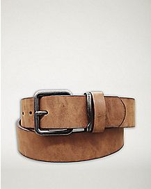 Glazed Belt - Brown