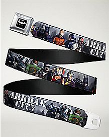 Arkham City Batman Seatbelt Belt - DC Comics