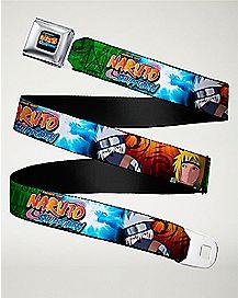 Kakashi and Minato Seatbelt Belt - Naruto Shippuden