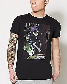 Motoko T Shirt - Ghost In The Shell