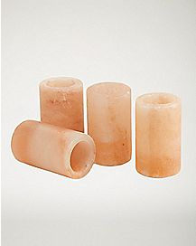 Himalayan Salt Shot Glasses - 4 Pack