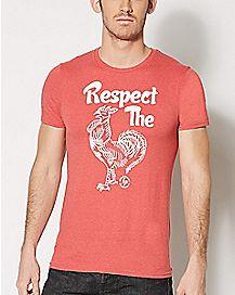 Respect the Siracha T Shirt - Tuong Ot Siracha