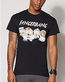 Fingerbang T Shirt - South Park