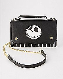 Striped Jack Handbag - The Nightmare Before Christmas