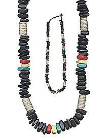 Rasta Beaded Necklace
