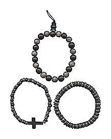 Beaded Bracelets - 3 Pack