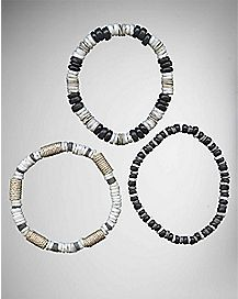 Shell Bracelets - 3 Pack