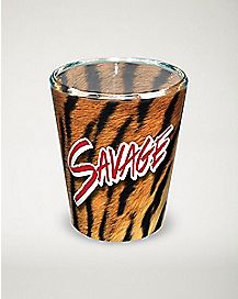 Savage Animal Print Shot Glass - 1.5 oz