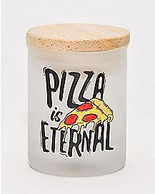 Pizza is Eternal Storage Jar - 3 oz.