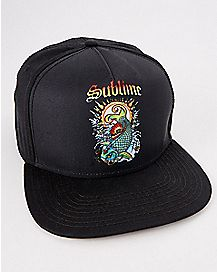 Koi Fish Sublime Snapback Hat