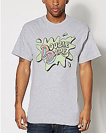 Double Dare Logo T Shirt - Nickelodeon