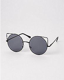 Round Kitty Sunglasses