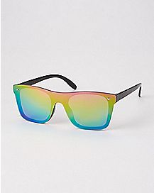 Square Reflector Sunglasses