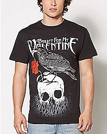 Raven Bullet For My Valentine T Shirt