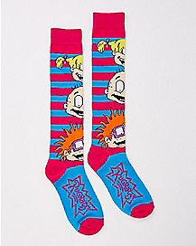 Rugrats Faces Knee High Socks- Nickelodeon