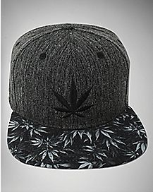 Leaf Snapback Hat