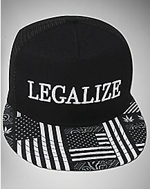 Flag Legalize Snapback Hat