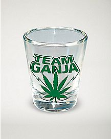 Team Ganja Shot Glass - 1.5 oz.