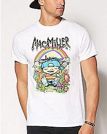 Rainbow Mac Miller T Shirt