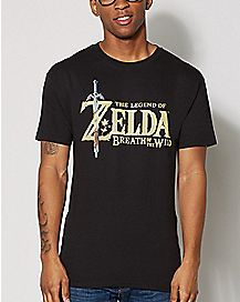 Breath of the Wild T Shirt - The Legend of Zelda
