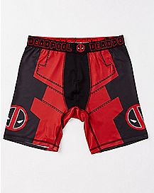 Suit Up Deadpool Boxers - Marvel