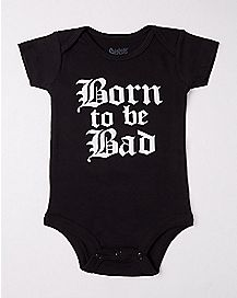 Born To Be Bad Baby Bodysuit
