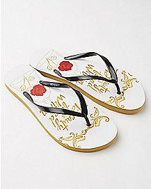 Belle Disney Flip Flops - Disney