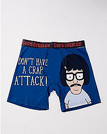 Don't Have A Crap Attack Boxers - Bob's Burgers