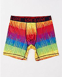 Rainbow Love is Love Boxer Briefs