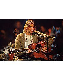 Unplugged Poster - Kurt Cobain