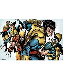 Evolution Wolverine Poster - Marvel Comics