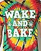 Wake and Bake Tie Dye T Shirt