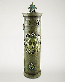 Sun Tower Incense Burner