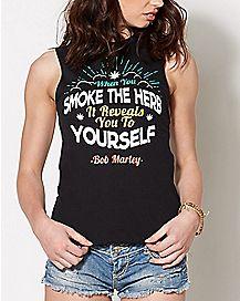 Reveal Yourself Bob Marley Tank Top