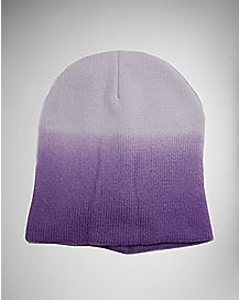 Ombre Purple Beanie Hat