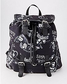 Jack Skelington and Sally Backpack - The Nightmare Before Christmas