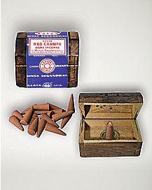Mini Coffin Box Incense Burner