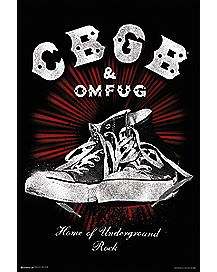 Sneakers CBGB Poster