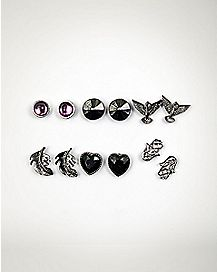 Love Bird Earrings - 6 Pair