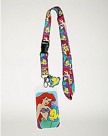 Ariel and Flounder Lanyard - The Little Mermaid